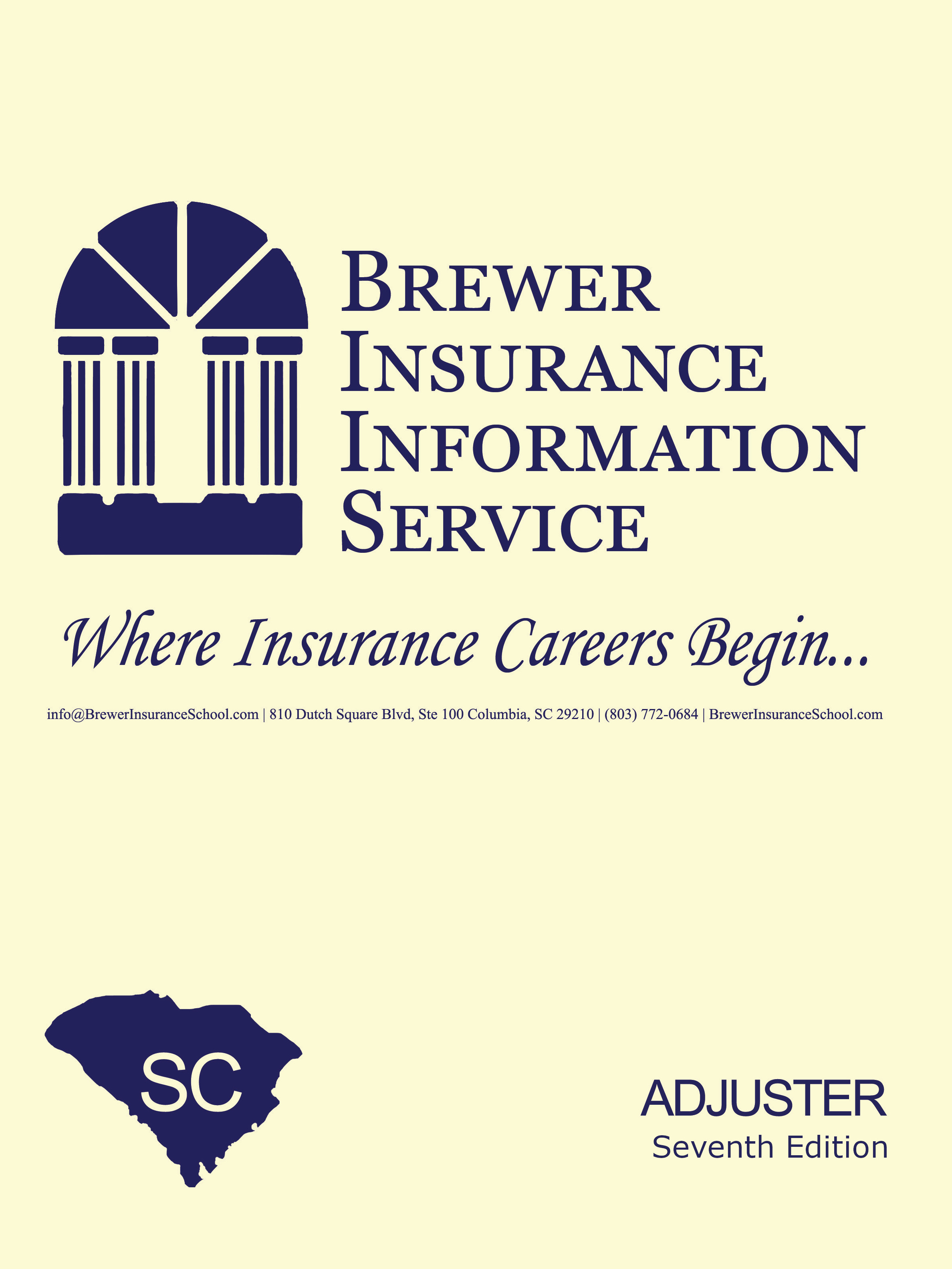 Claims Adjuster - Property, Casualty, Surety and Marine Claims Adjuster Pre-Licensing